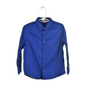 H&M Button Down Shirt 3T Blue